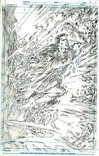 Netho Diaz SUPERMAN Sample Page 3 Original Art