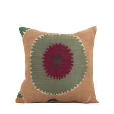 """15"""" x 15"""" Pillow Cover Suzani Pillow Cover Vintage FAST Shipment With UPS 10073"""