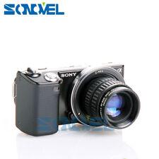 FUJIAN 35mm F1.7 CCTV TV Movie lens+C Mount+Macro ring
