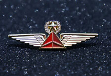 WINGS DELTA AIRLINES AIR LINES Wing Pin Gold Replica 60mm/2.4 in