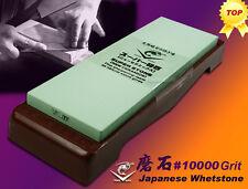 NANIWA Japanese Whetstone #10000 Grit Combine Holder High Quality Stone NEW!