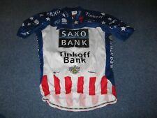 Tinkoff Saxo Bank Specialized cycling jersey XXL Timmy Duggan 2012 USA Champion