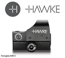 HAWKE Reflex-Visier Leuchtpunktvisier REFLEX SIGHT WEAVER 12131 Rotpunktvisier
