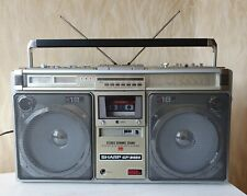 BOOMBOX SHARP GF-9494X Vintage Works Well