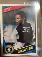 1984 Topps Marcus Allen LA/Oakland/LV Raiders #98 VERY SHARP!!! 2nd Year Card!!