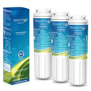 Waterdrop Maytag UKF8001 Refrigerator Water Filter, 3 Packs