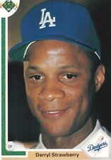 1991 Upper Deck Darryl Strawberry #245 Baseball Card