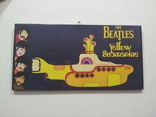 Quadro stampa su tela The Beatles Yellow submarine. Musica dipinta