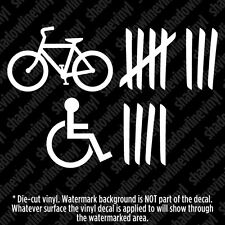 ROADKILL SCORING Vinyl Decal Sticker Funny Bike Handicapped JDM Truck 4x4 Jeep