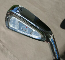 Rechromed TaylorMade RAC cb Coin Forged 6 Iron Gold S300 Steel Shaft