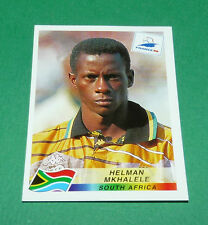 N°183 MKAHLELE SOUTH AFRICA AFS PANINI FOOTBALL FRANCE 98 1998 COUPE MONDE WM