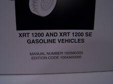 Club Car XRT 1200 Illustrated Parts List Manual