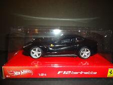 Hot Wheels Ferrari F12 BERLINETTA Negro BCK03 1/24