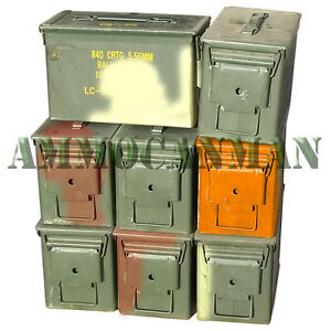 50 cal ammo cans Grade 2 (8 Pack)