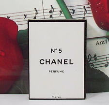 Chanel No.5 Perfume 1.0 Oz. From 70's. Vintage. Sealed.