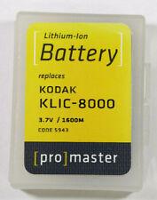 ProMaster Kodak KLIC-8000 Battery Code 5943
