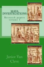Maya Investigations : Volume 1 by Janice Van Cleve (2014, Paperback)