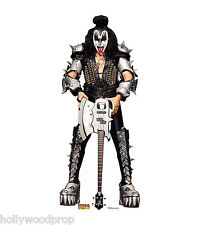 KISS GENE SIMMONS THE DEMON LIFESIZE CARDBOARD STANDUP STANDEE CUTOUT POSTER NEW