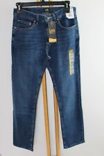 Lee Regular Classic Fit Men's Blue Jeans Size 32 L 30 Straight  NWT  Pants