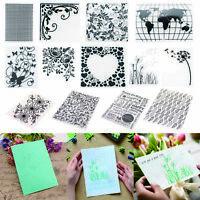 Plastic Embossing Folder Scrapbooking DIY Photo Album Template Card Making Gift