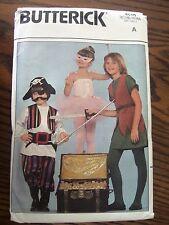 Children's Halloween Costumes ~ Butterick Pattern 4010 ~ Size A