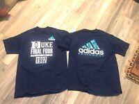 New Rare Vintage Duke Blue Devils 1988 - 1991 Final Four T-shirt Men's Large