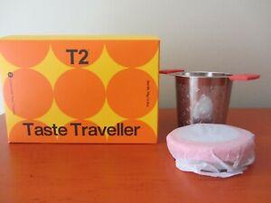 T2 Taste Traveller and Infuser Set - 14 Loose Leaf Teas / Tisanes - NEW