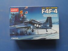 Academy F4F-4 Wildcat US Navy Fighter WWII 1/72 scale Model Kit - 12451