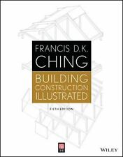 Building Construction Illustrated by Francis D. K. Ching (2014, Paperback)