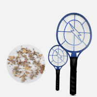 LED Electric Handheld Racket Mosquito Swatter Bug Pest Insect Fly Zapper Killer