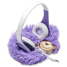 Monkey Buds Ear Headphones For Kids, Children, Baby Girl and Boy New in Box