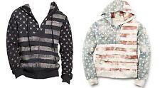 Polo Ralph Lauren Denim & Supply Mens USA Flag Americana Hoodie Sweater Jacket