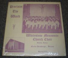 Proclaim The Word Whitestone Mennonite Church Choir~RARE 1972 Private Christain