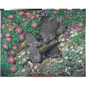 JHG 1000 Piece Jigsaw Hedgehog Family