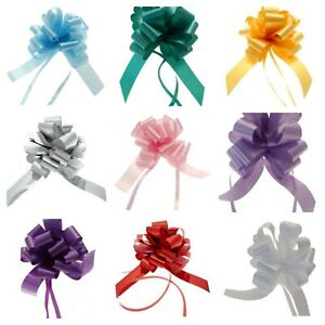 Small Pull Bows for Presents Gifts CHRISTMAS Rosettes Hampers Wedding Cars