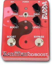 Budda ZenMan Overdrive / Boost  Electric Guitar Effects Pedal