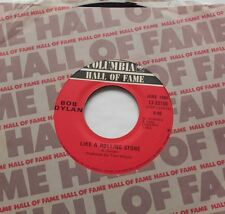 BOB DYLAN Like a rolling stone /Rainy...VG++/NM- CANADA HALL OF FAME Reissue 45