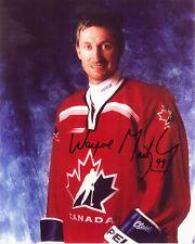 Wayne Gretzky - Team Canada Autographed Signed 8x10 reprint Photo !
