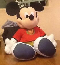 """Disney FP MICKEY MOUSE Huge 24"""" Fisher Price Stuffed Plush Red Shirt Green Pants"""