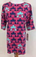 "LuLaRoe ""DISNEY"" Irma XXS, 2XS- NWT, Minnie Mouse, New With Tags! Pink and Blue"