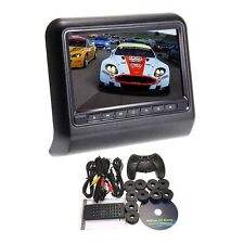 "2017  9"" Headrest Slot-In Car DVD Player FM Transmitter/IR/USB/SD/Wireless"