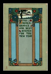 DR JIM STAMPS US KIND REMEMBRANCE NEW YEAR GREETING POSTCARD
