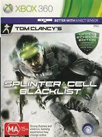 Xbox 360 Game - Tom Clancy's - Splinter Cell Blacklist