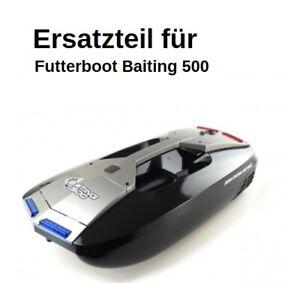 Ersatzteil Futterboot Baiting 500: Rumpf schwarz mit Aufkleber
