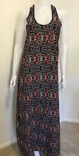 Wish Womens 'Tilly' Floral Maxi Racer Back Casual Spring Summer Dress Size 8