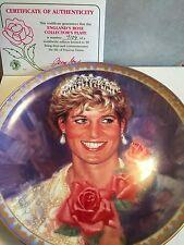 Collector Plate PRINCESS DIANA England's Rose 1997 #7109