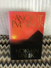 """""""Ancient Evenings"""" Signed book by Norman Mailer. English First Edition"""