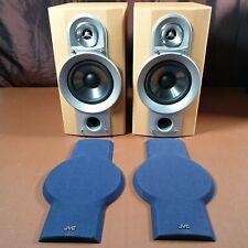 JVC Bookshelf Speakers SP-UXG6 24w 6ohms Great Condition Nice Sound