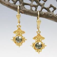La Vie Parisienne Catherine Popesco Old World Small Drop Earrings Black Diamond