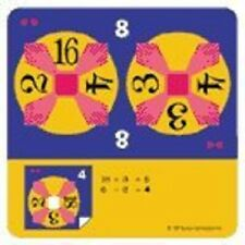 New 24 Game Multiply/Divide 1,2,3 Dot Math Card Game 48 Cards / 96 Combinations